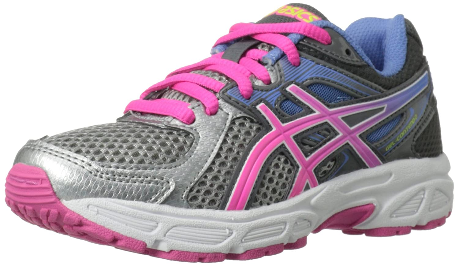 Asics Girl's Gel-Contend 2 Gs Ankle-High Synthetic Running Shoe