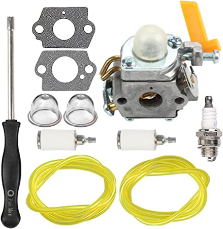 Amazon.com: HIPA 308054013 carburador con filtro de línea de ...