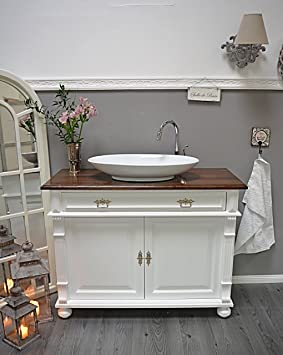 País & Amor de Muebles de baño GmbH Luina: rústico de Lavabo,