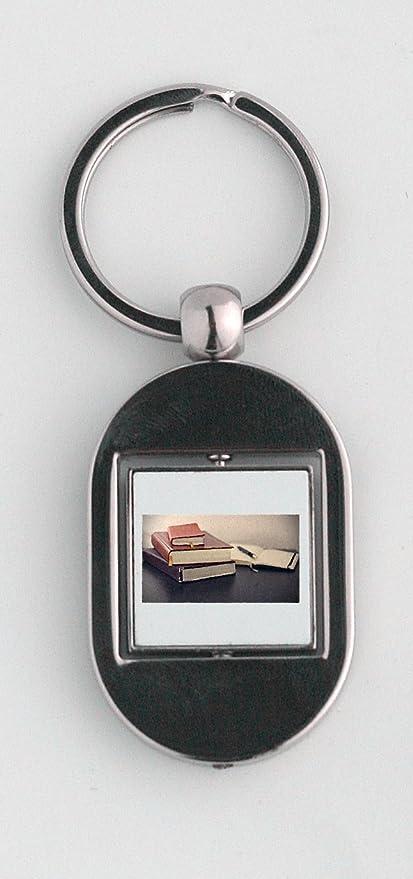 Libros, cuaderno, bolígrafo, Educación, portátil llavero ...