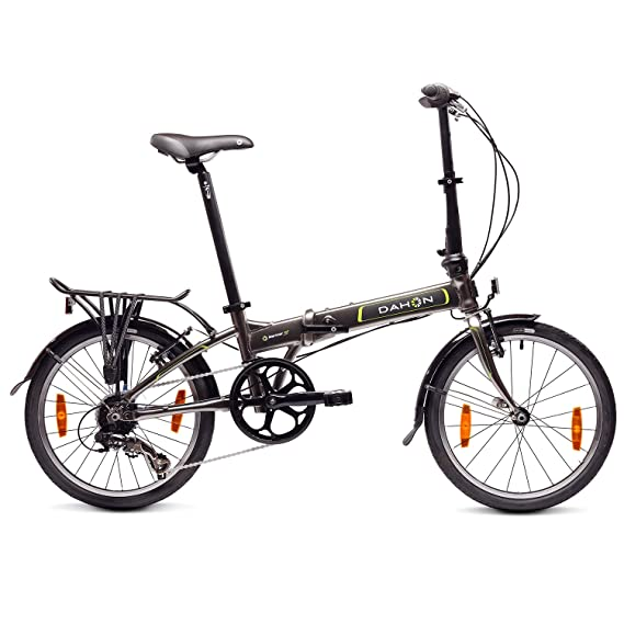 Dahon Mariner D7 Bicicleta Plegable, Unisex Adulto, Grafito, 20