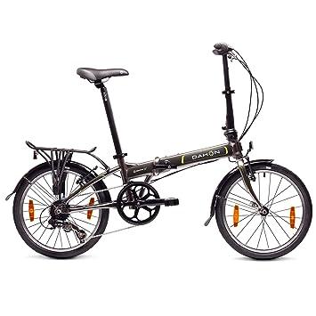 "Dahon Mariner D7 Bicicleta Plegable, Unisex Adulto, Grafito, 20"""