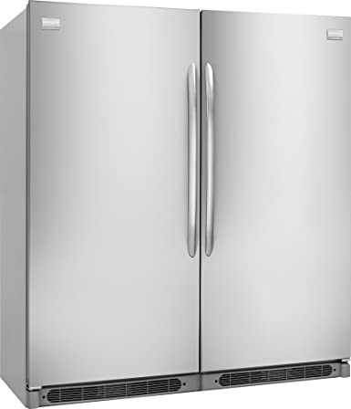 Frigidaire 64u0026quot; Built In All Refrigerator And All Freezer Combo With  18.6 Cu.