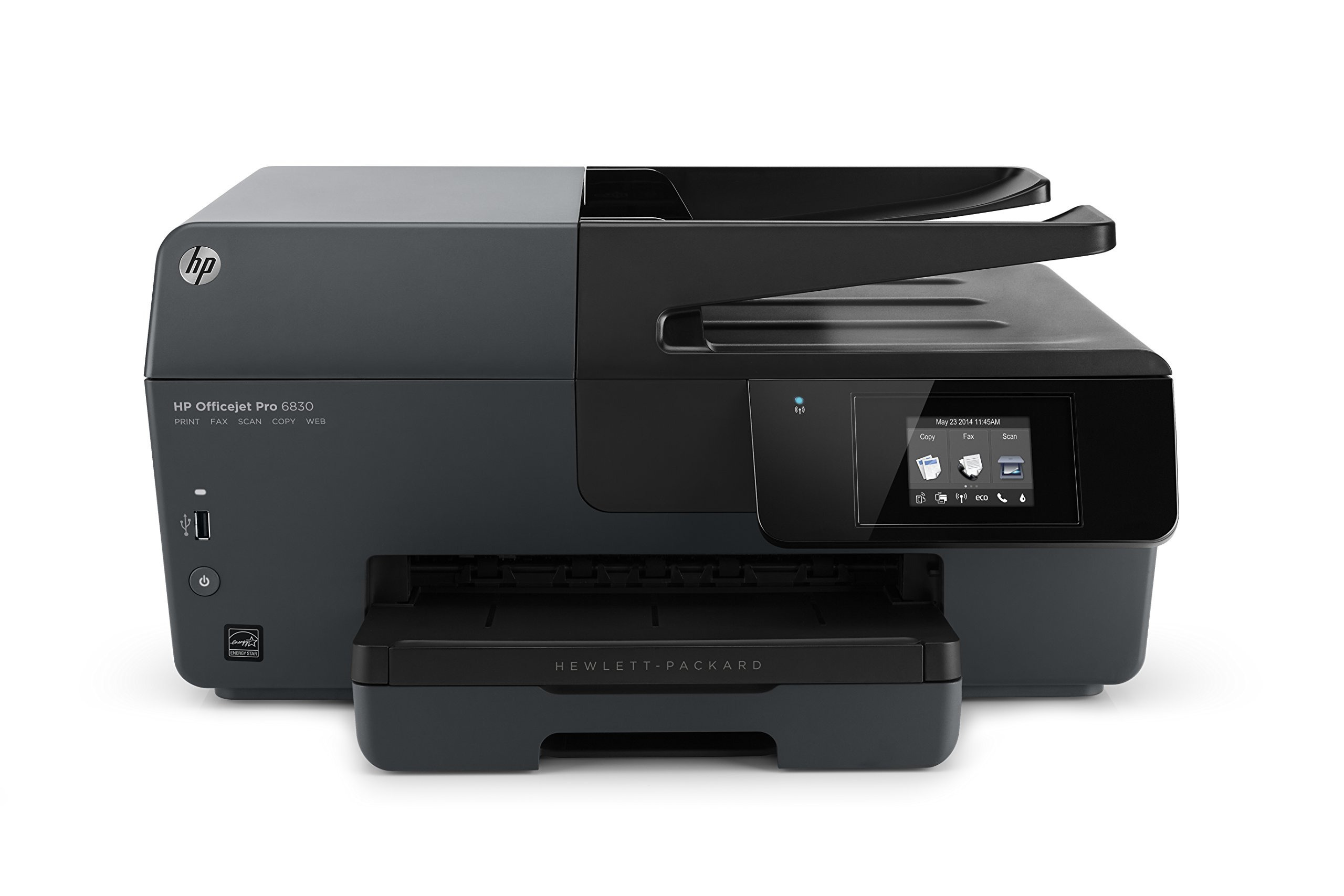 HP OfficeJet Pro 6830 Wireless All-in-One Photo Printer with Mobile Printing, Instant Ink ready, Refurbished (E3E02AR)