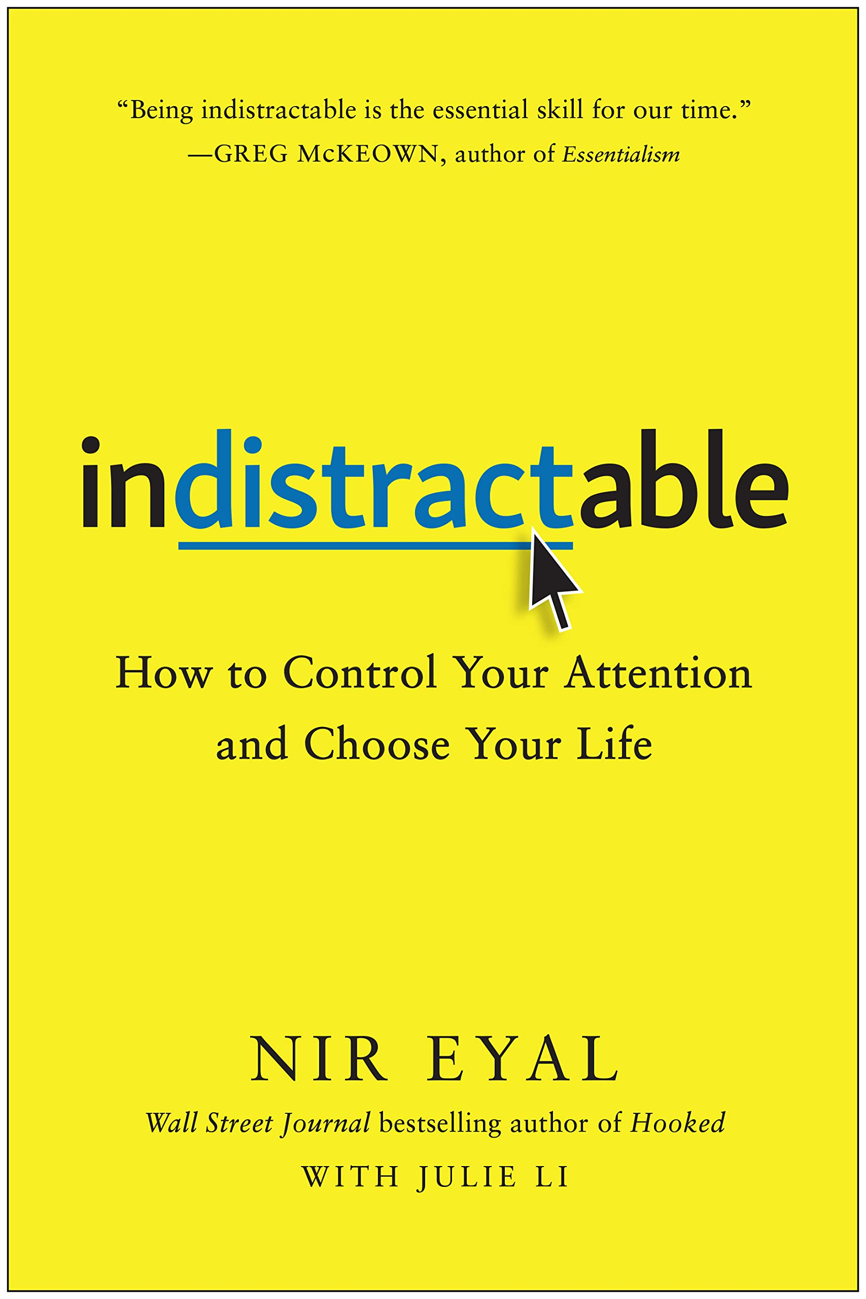 Image result for nir eyal indistractable