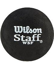 WILSON Staff, Pallina da Squash, Confezione da 2, WRT617500 Unisex Adulto