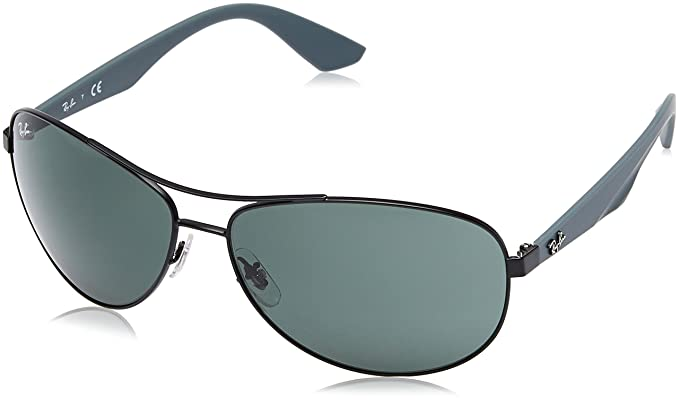 79b8bc62a39 Ray-Ban Unisex s 0rb3526 Sunglasses Black 63  Amazon.co.uk  Clothing