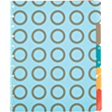 """Staples Arc Customizable Notebook System Poly Tab Dividers, 9"""" x 11"""""""
