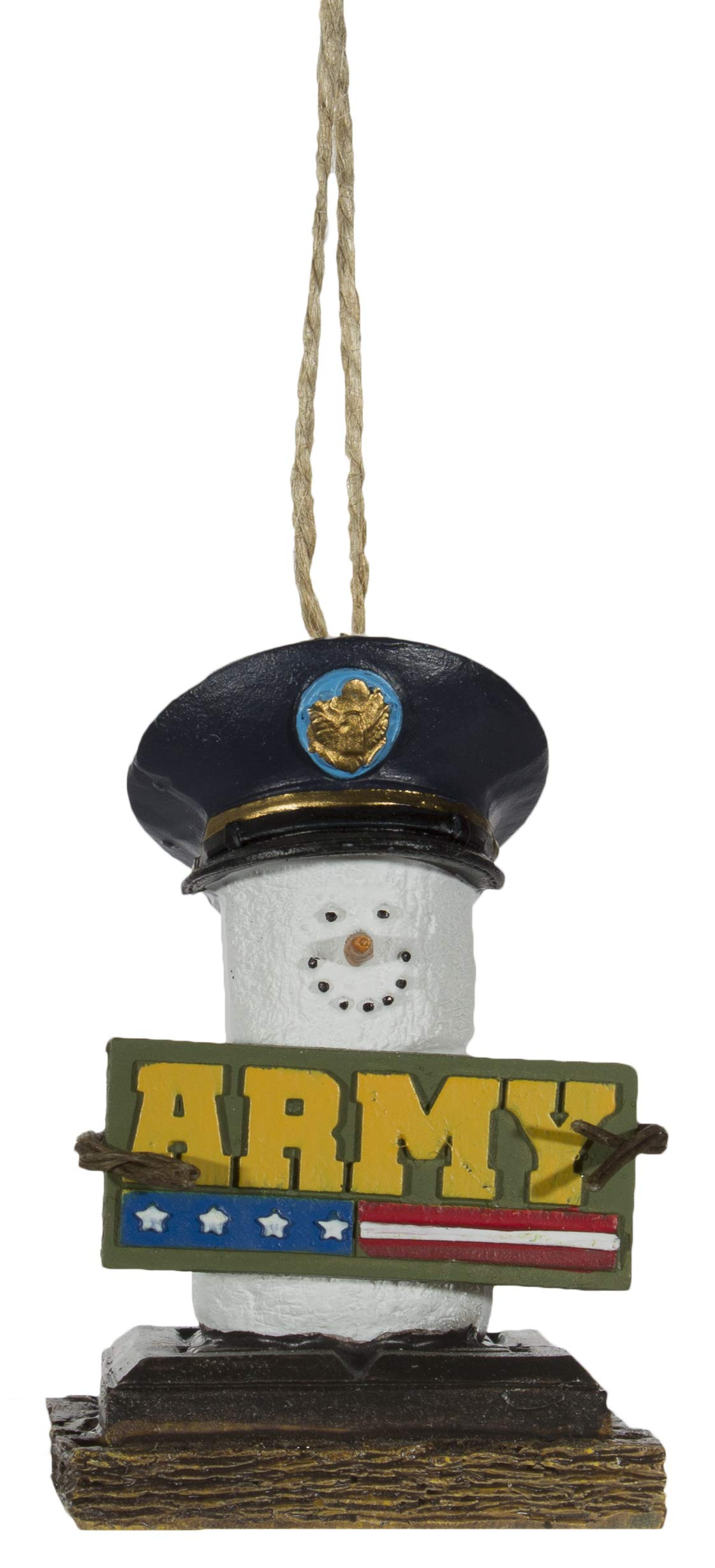 Midwest-CBK S'Mores Military Christmas/Everyday Ornament - Army