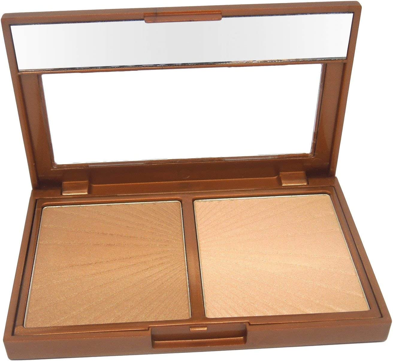 W7 | Bronzer | Hollywood Bronze & Glow Duo Compact | Streak and Smudge Resistant for a Flawless Finish