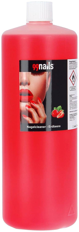 99Nails® Uñas Cleaner–Fresa, 1er Pack (1x 1000ml) 99nails