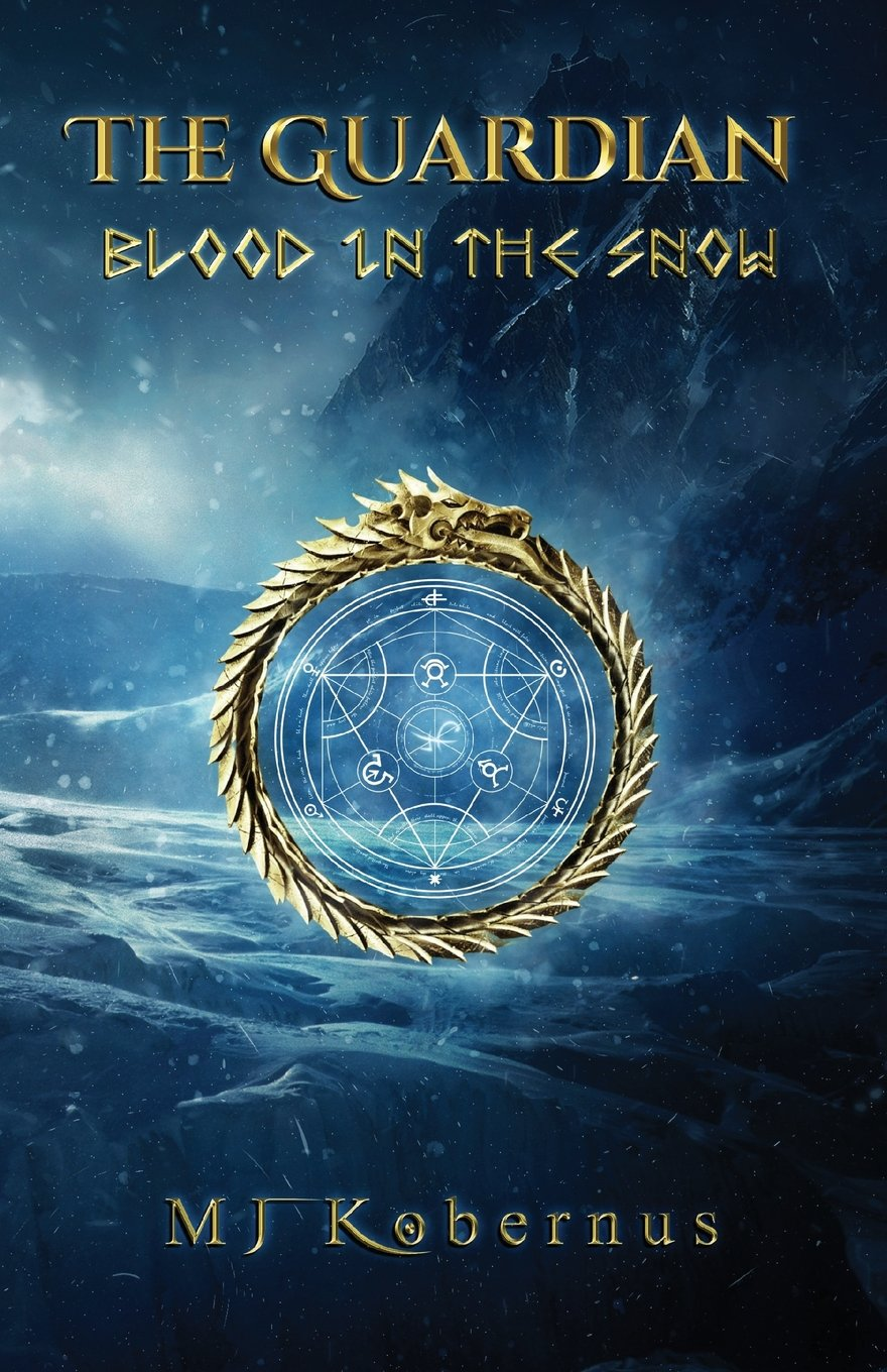 The front cover of Blood in the Snow