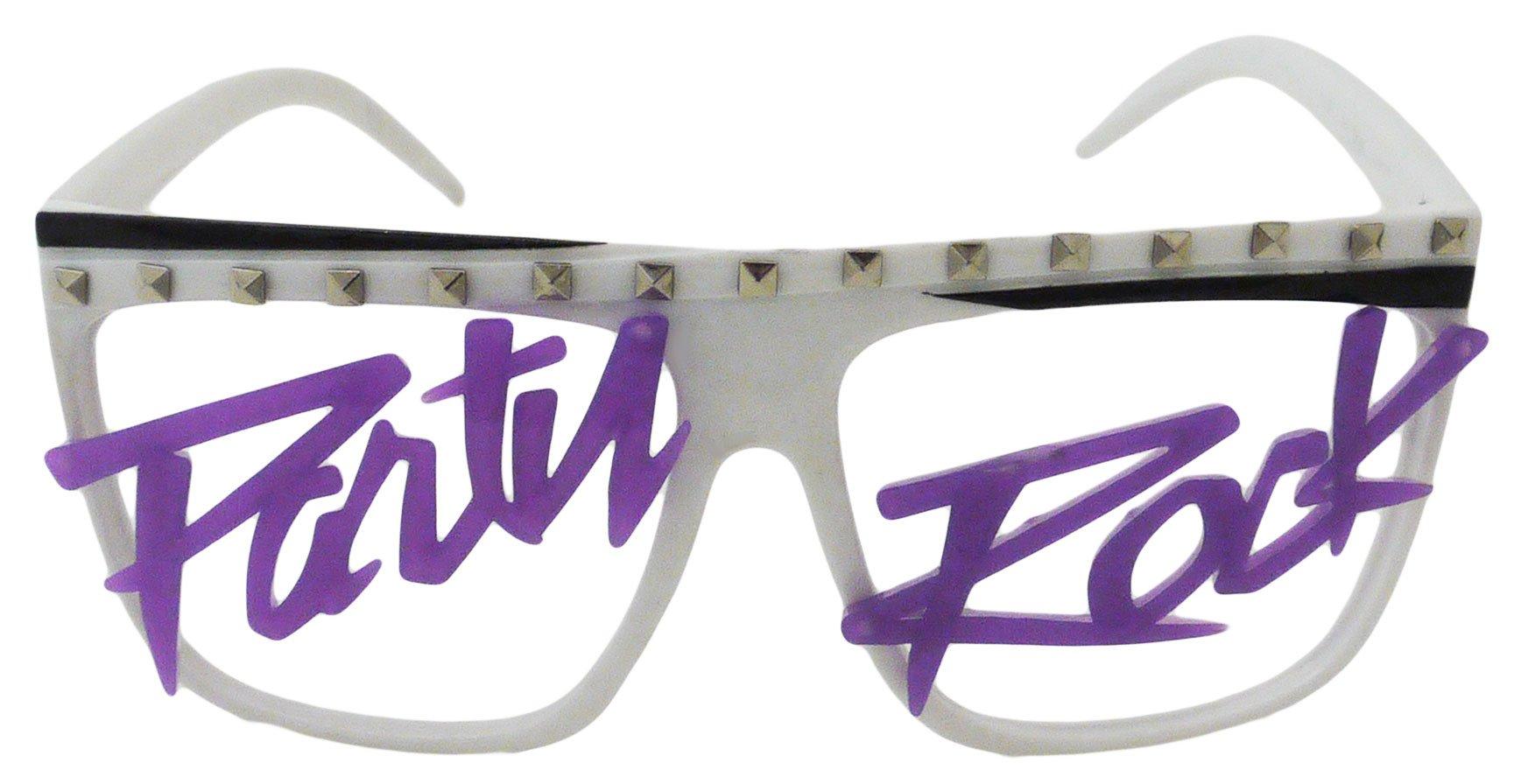 Novelty Costume Party Rock Flat Top Lmfao Glasses Music Video Shade Eyewear