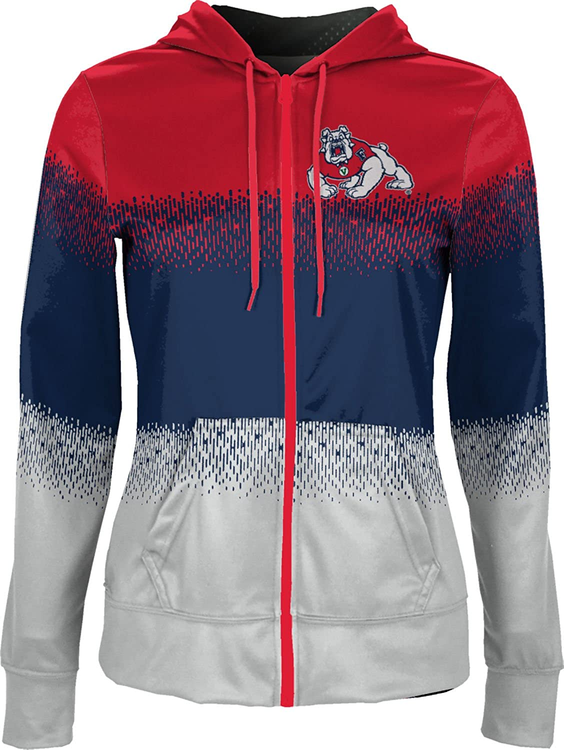 Drip ProSphere Fresno State University Girls Zipper Hoodie School Spirit Sweatshirt