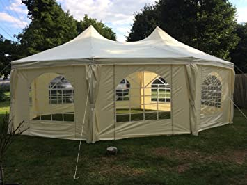 Quictent 22u0027x16u0027 Heavy Duty Outdoor Octangle Wedding Party Tent Gazebo Canopy & Amazon.com : Quictent 22u0027x16u0027 Heavy Duty Outdoor Octangle Wedding ...