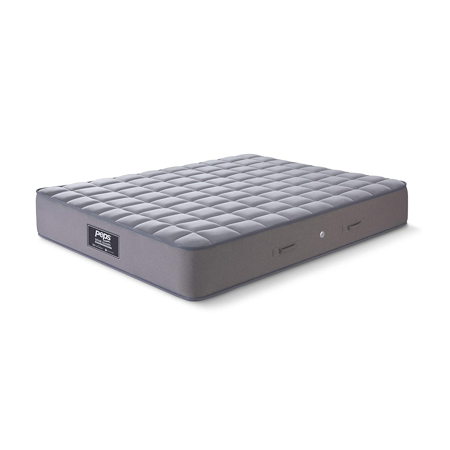 Peps Spine Guard 6-inch Single Size Spring Mattress (Grey, 72x36x06)