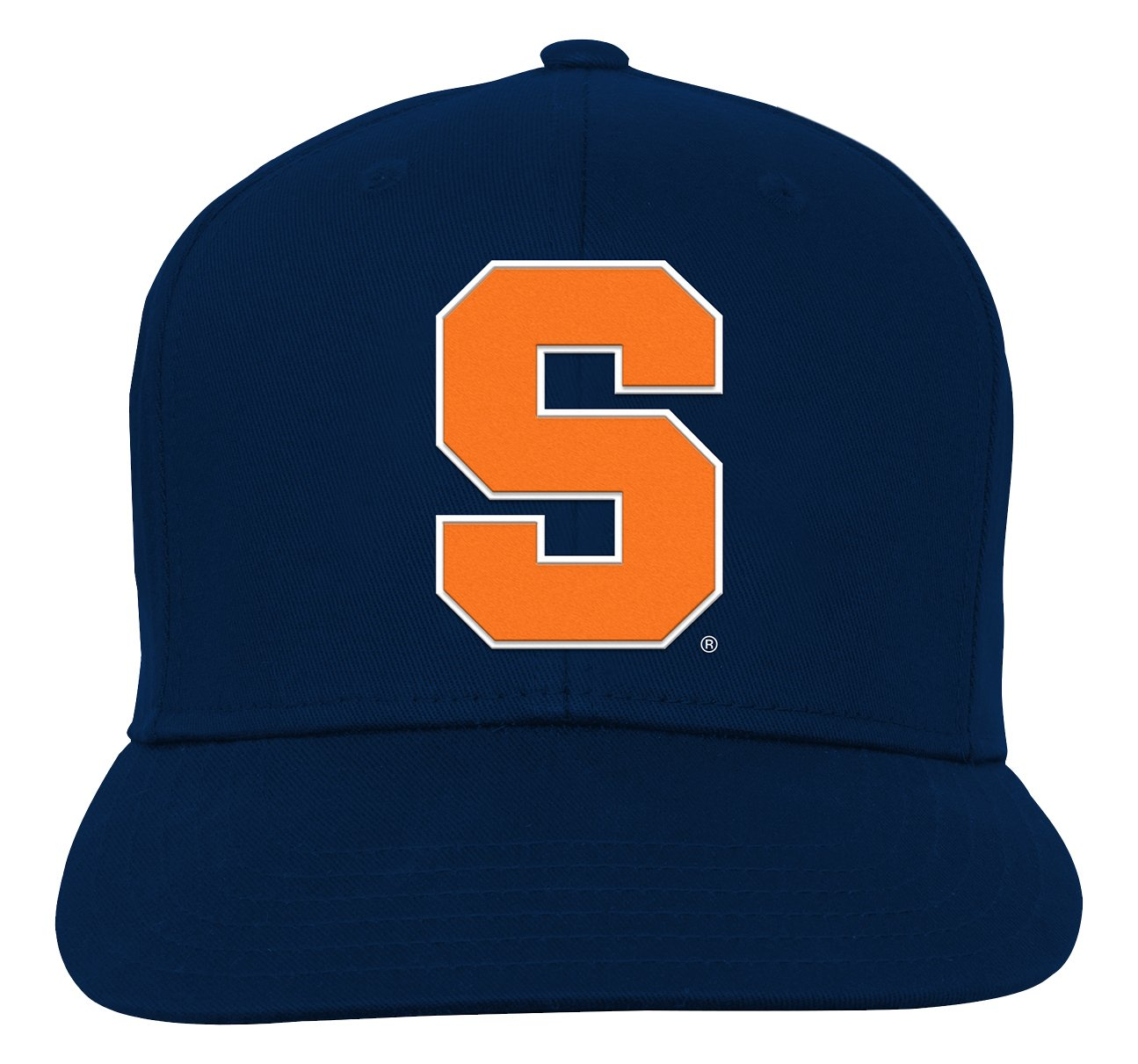 NCAA by Outerstuff NCAA Syracuse Orange Youth Boys Team Flat Visor Snapback Hat Dark Navy Youth One Size