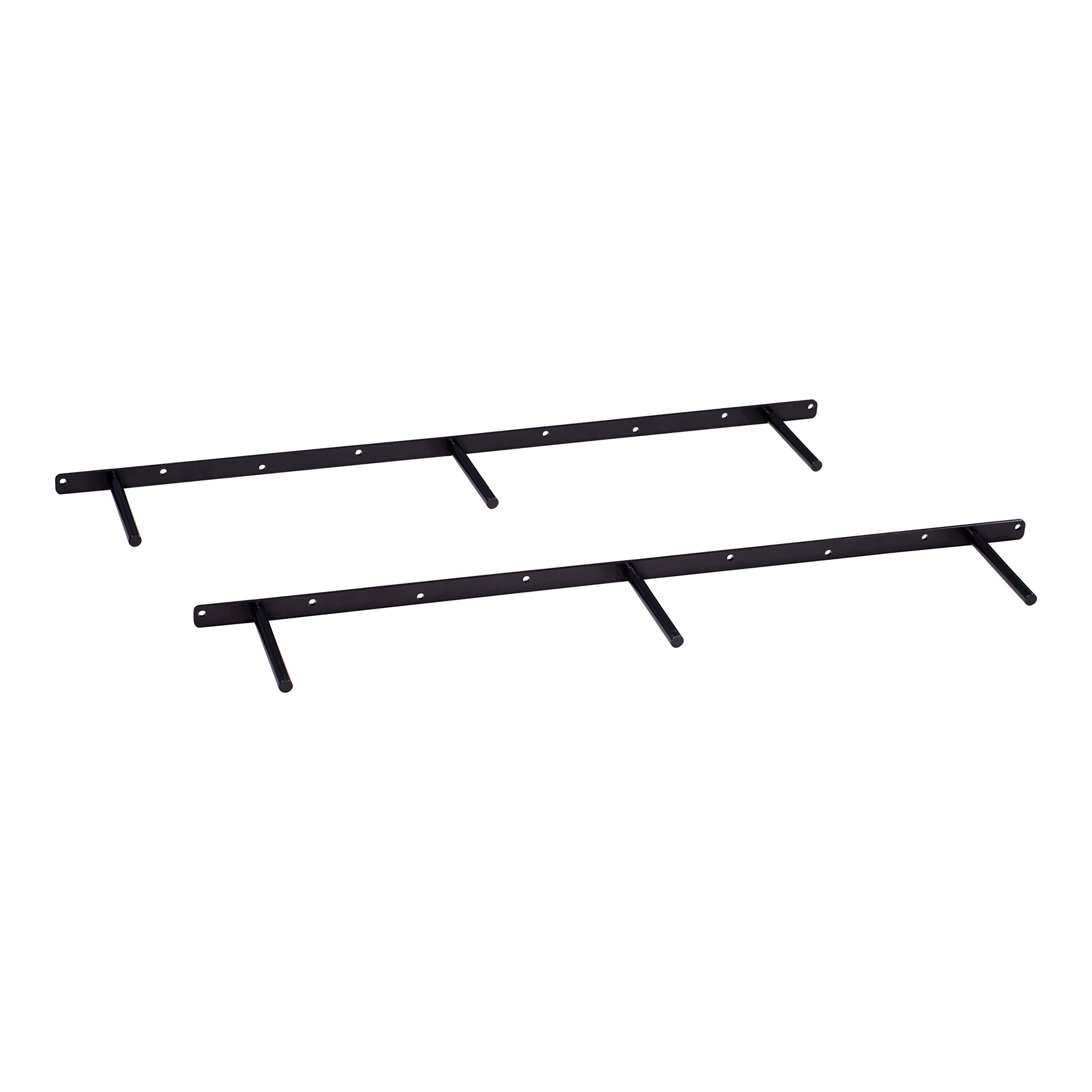 DAKODA LOVE 32'' Floating Shelf Brackets (Set of 2), for 34'' to 46'' Shelves, Made in USA, Uni-Bracket Blind Shelf Supports (32.625'' Long)