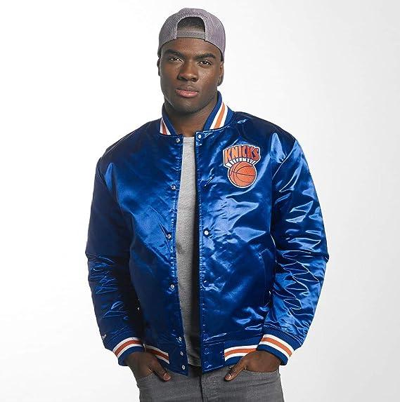 Mitchell amp; York Homme nbsp; Teddy Knicks Team Vestes Manteaux Ness amp; New Hwc rRq4WArX