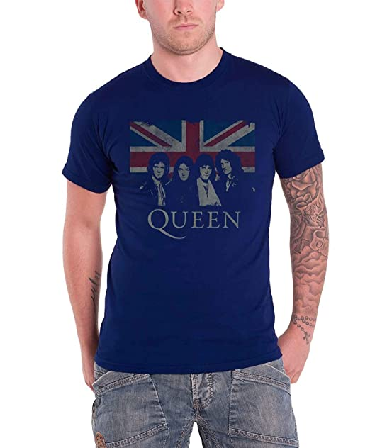 Queen - Camiseta - Manga Corta - Hombre  Amazon.es  Ropa y accesorios e17716495f9