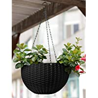 Story@Home Flower Pot Hanging Basket with Hook Chain for Home Gardener Office Balcony Grower Planter