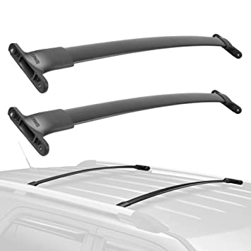 Amazon.com: MOSTPLUS New Roof Rack Cross Bar Rail for 2016 ...