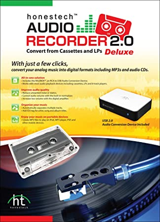 honestech audio recorder 2.0 deluxe