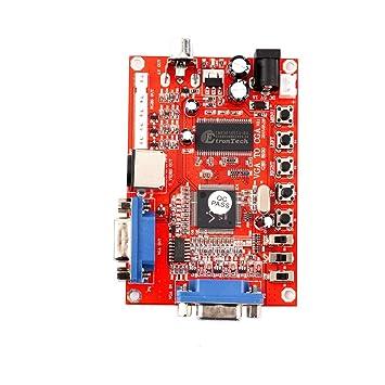 2015 New VGA to CGA//CVBS//S-Video HD Video Game Converter Board