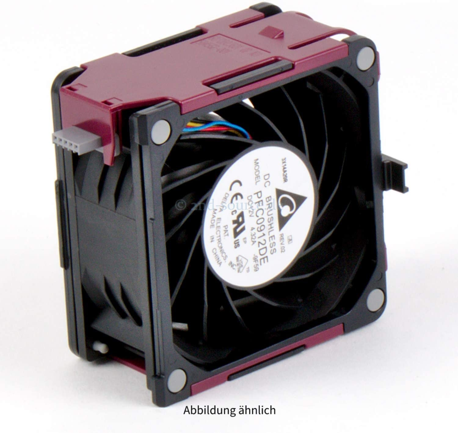 92MM HP HOT-PLUG FAN ASSEMBLY Renewed