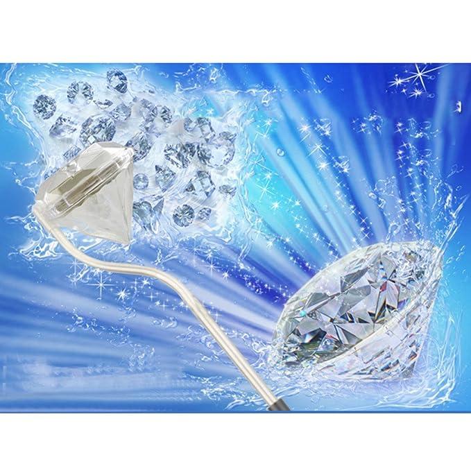 Amazon.com: 10 unids/lote Venta Caliente Estilo Diamante Cristal colgante luz moderna Iluminación LED luz Solar del jardín luz Solar del césped luminaria: ...