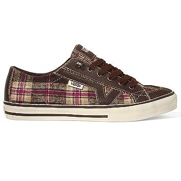 Vans Damen Sneaker Tory Women brown 10.5: : Sport