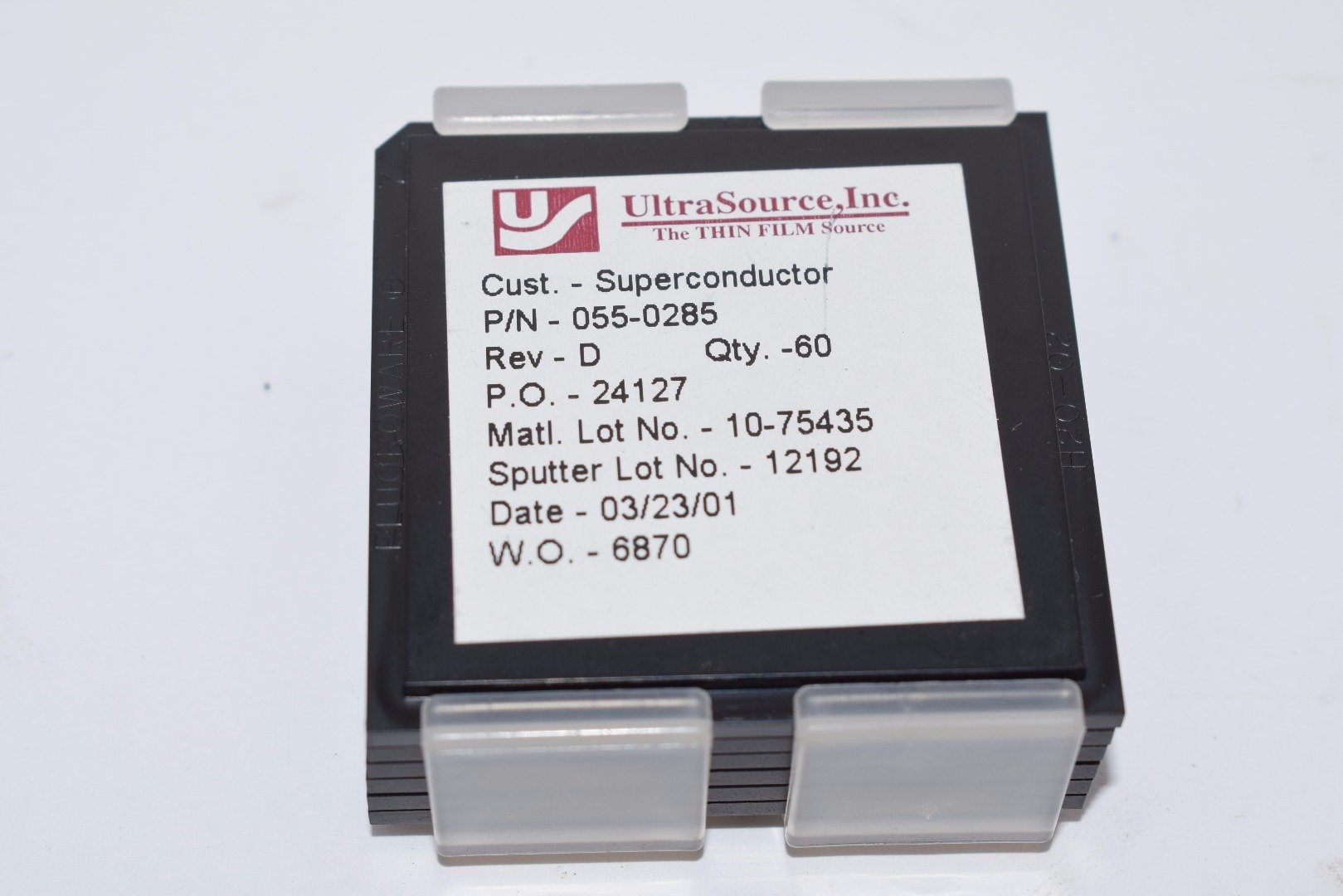 Lot of 10 NEW Superconductor UltraSource 055-0285 Rev D Thin Film Sensor by UltraSource (Image #1)