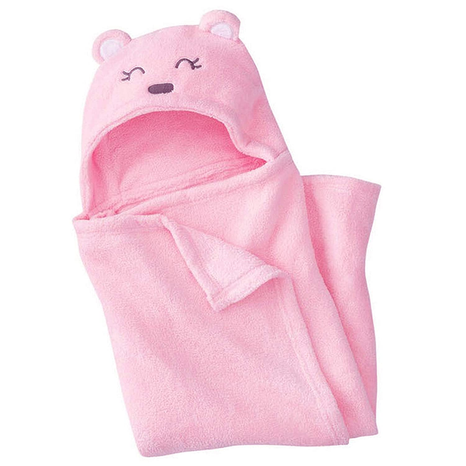 Cutieco AMZ-C1-Meow Luxury Series Super Soft Baby Sleeping Bag for New Born Babies (Pink)