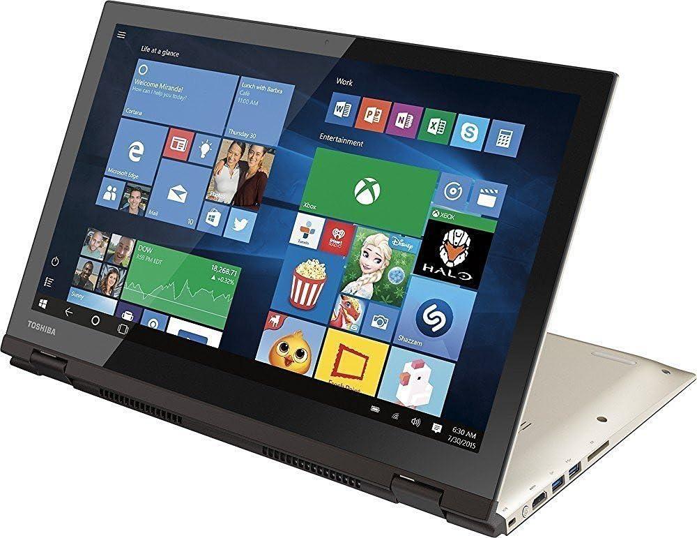 "Toshiba Satellite Radius P55W-C5314 Touchscreen Core i7-6500U Dual-Core 15.6"" Convertible Tablet & Notebook"