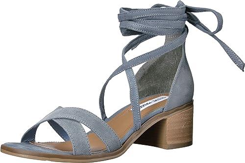 768252e6a9e Steve Madden Women s Kanzley Light Blue Sandal  Amazon.ca  Shoes ...