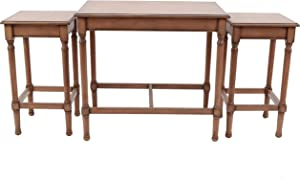 Decor Therapy Nesting Tables, Irish Brown