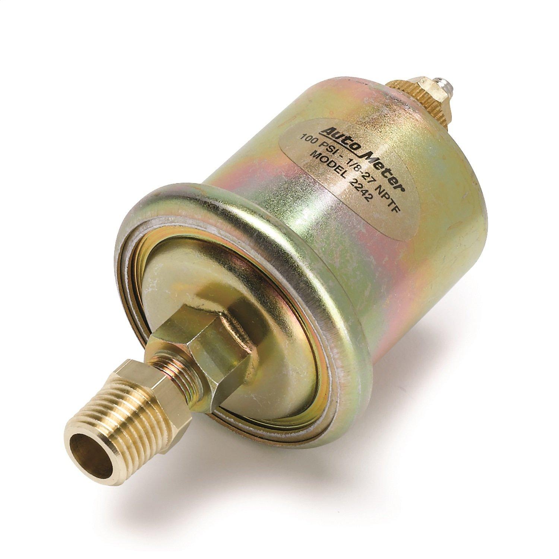 Auto Meter 2242 Short Sweep Electric Oil Pressure Sender