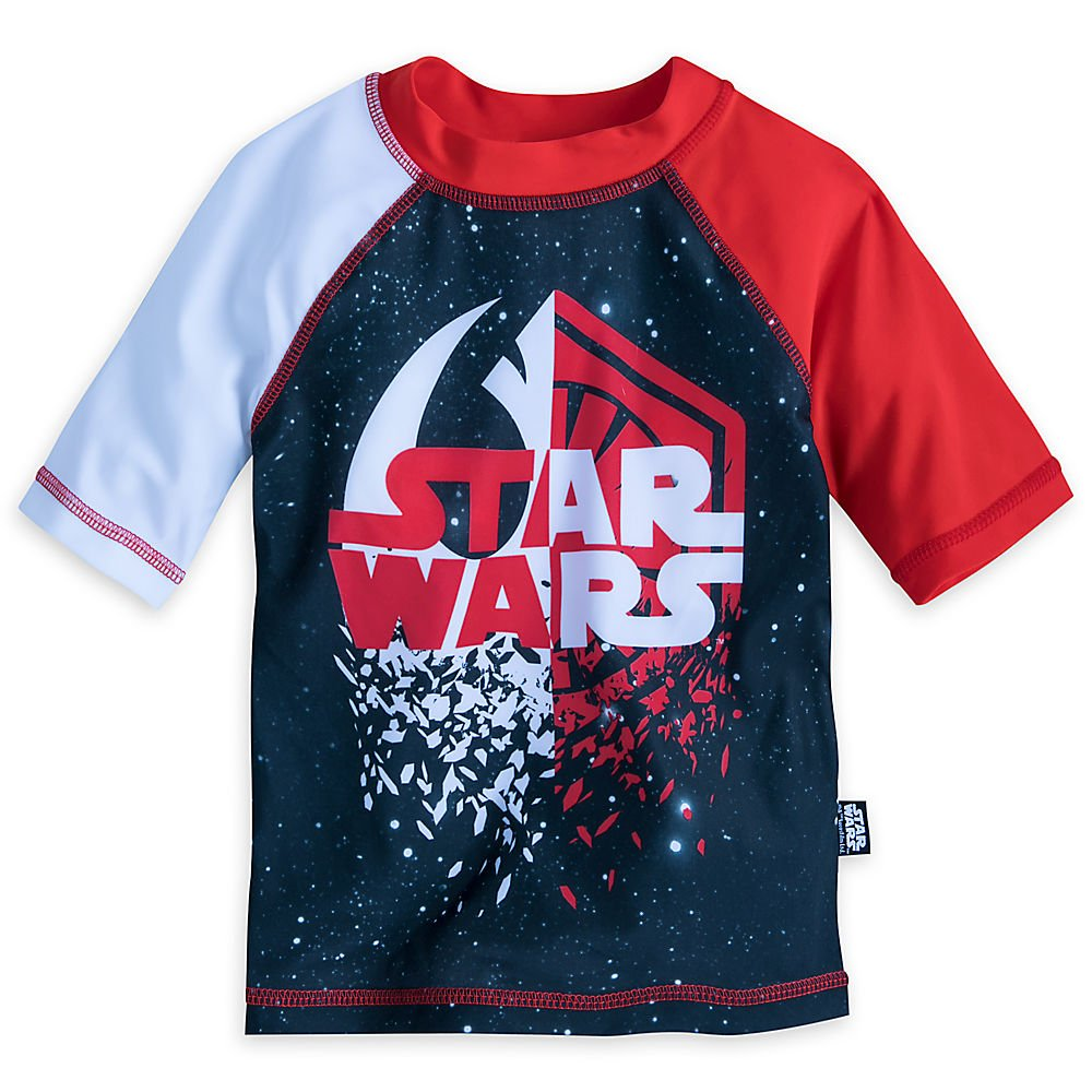 Star Wars: The Last Jedi Rash Guard for Boys Size 9/10