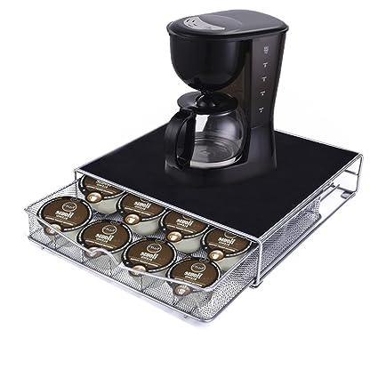 Dispensador de cápsulas Soporte para cápsulas – Soporte para 36 Cápsulas Dolce Gusto Nespresso Cápsulas café