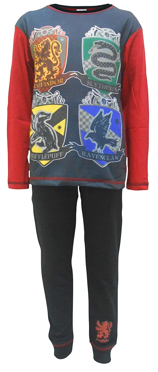 Harry Potter Hogwarts School Logo Boys Pajamas