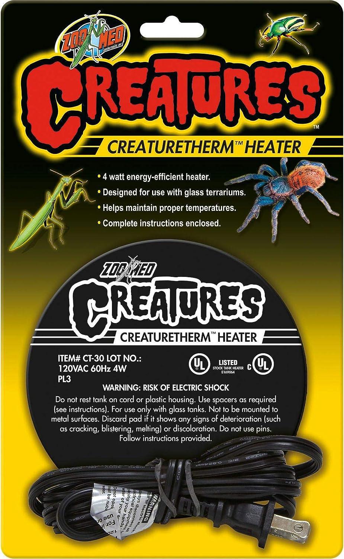 Zoo Med Creatures Creaturetherm Heater 4 Watt Zoo Med Labs