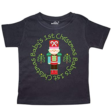263d826483ab inktastic - Nutcracker First Christmas Baby Gift Toddler T-Shirt 2T Black  204c5