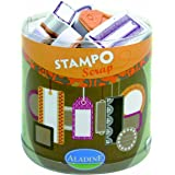 Aladine - 03711 - Tampons À Imprimer - Stampo Scrap - Etiquettes