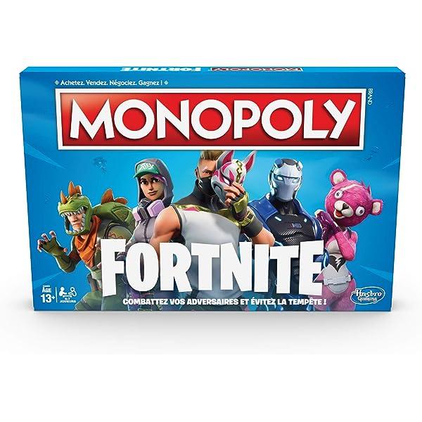 Monopoly – Fortnite juego de tablero, E6603: Amazon.es: Juguetes y ...