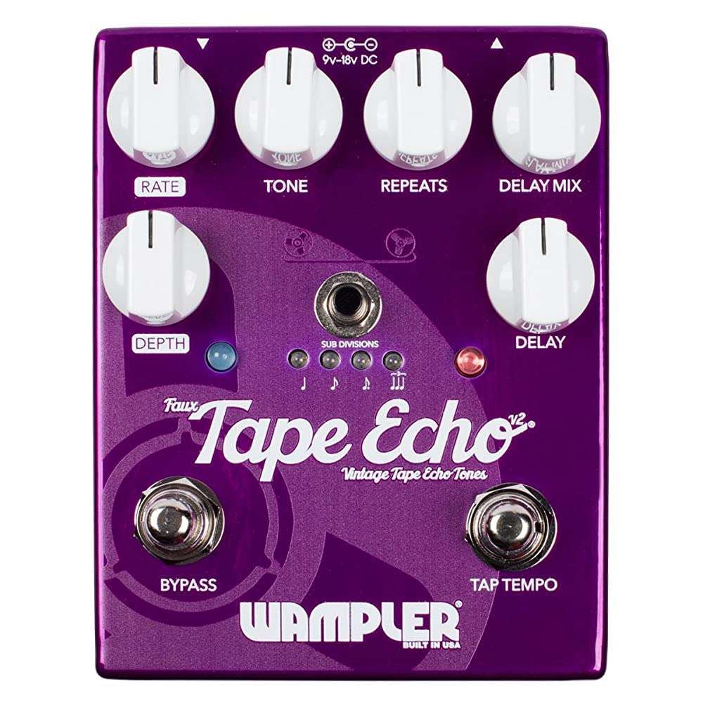 Wampler Faux Tape Echo Delay Pedal Review in 2020 1