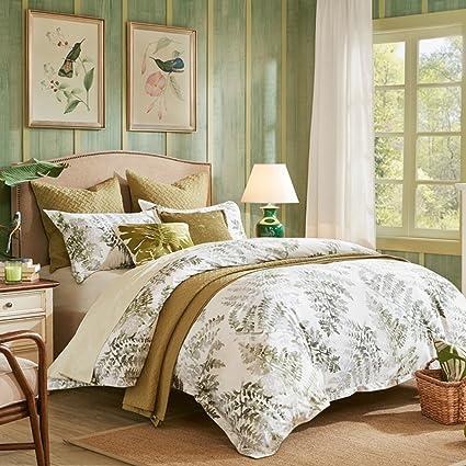 Algodón 4pc Juego de cama,Estilo americano 100% algodón Impresión