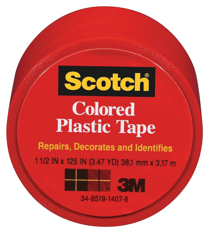 3M COMPANY 191RED Plastic Tape