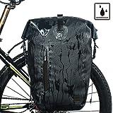 Rhinowalk 自転車 防水 パニアバッグ リアバッグ サイドバッグ 大容量 軽い 収納力抜群 高級感溢れる