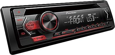 Pioneer In-Dash Single-DIN Car Stereo Receiver