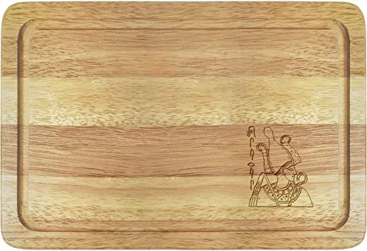 Azeeda Faraón Egipcio Tabla de Cortar de Madera (WB00011625 ...